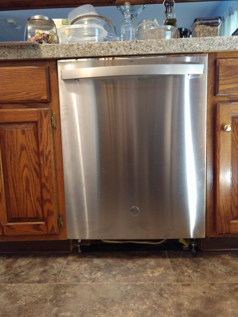 Palmerton, PA - Installed customer supplied dishwasher