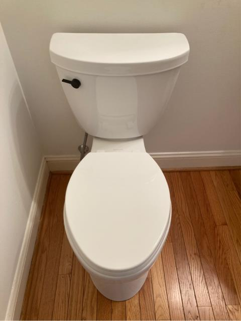 Toilet Install