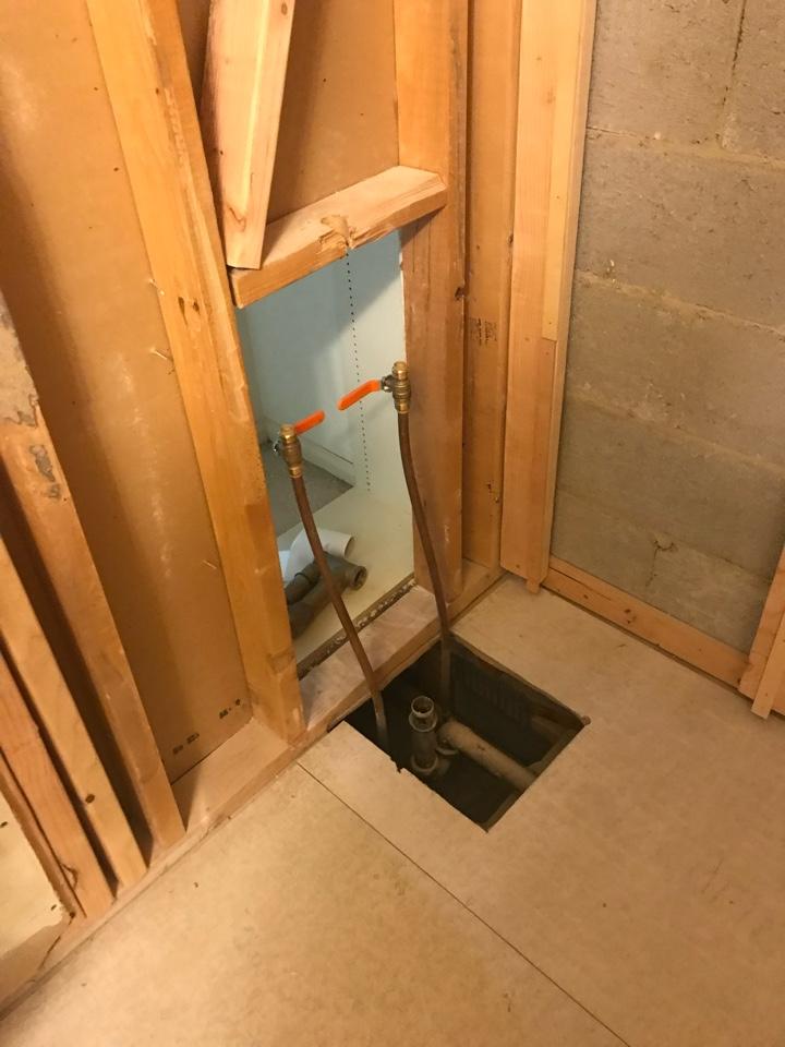 Spring House, PA - Multiple bathroom remodels. Ambler plumbers.