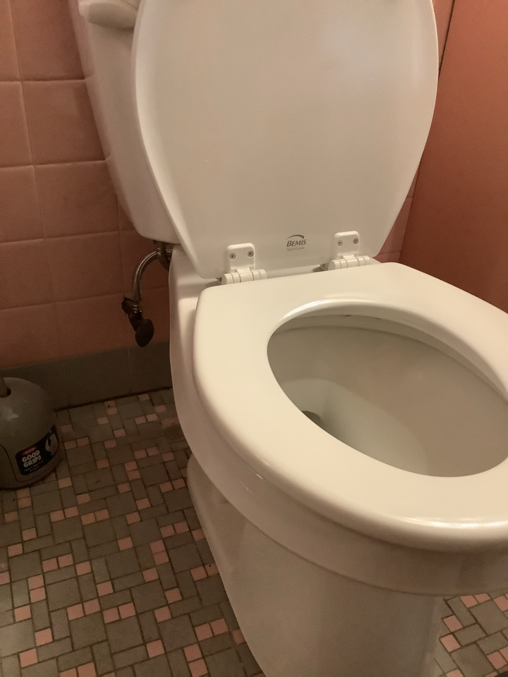 Glenside, PA - Leaking 1960's Eljer toilet. Not cost effective to repair and uses 3.5 gallons per flush. New Gerber viper toilet for the win!