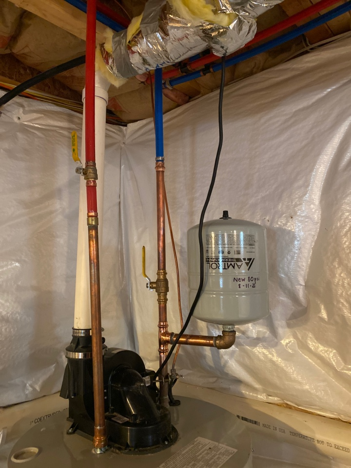 Dresher, PA - Water heater repairs new expansion tank dresher. Ambler plumber