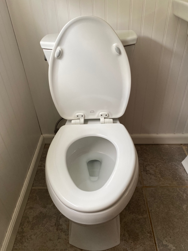 King of Prussia, PA - Toilet replacement and new supply tube. ambler plumber