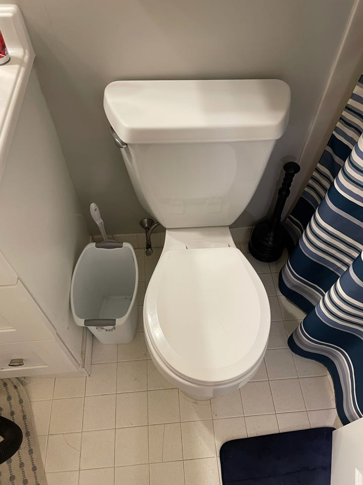 Harleysville, PA - Lift and reseal upstairs toilet