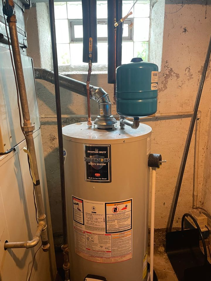 Glenside, PA - 40 gallon water heater install
