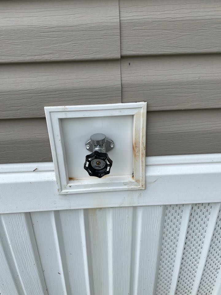 North Wales, PA - Frost free hose bib replacement