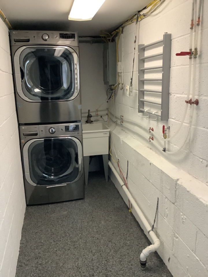 New laundry room set up designed and executed in King of Prussia pa
