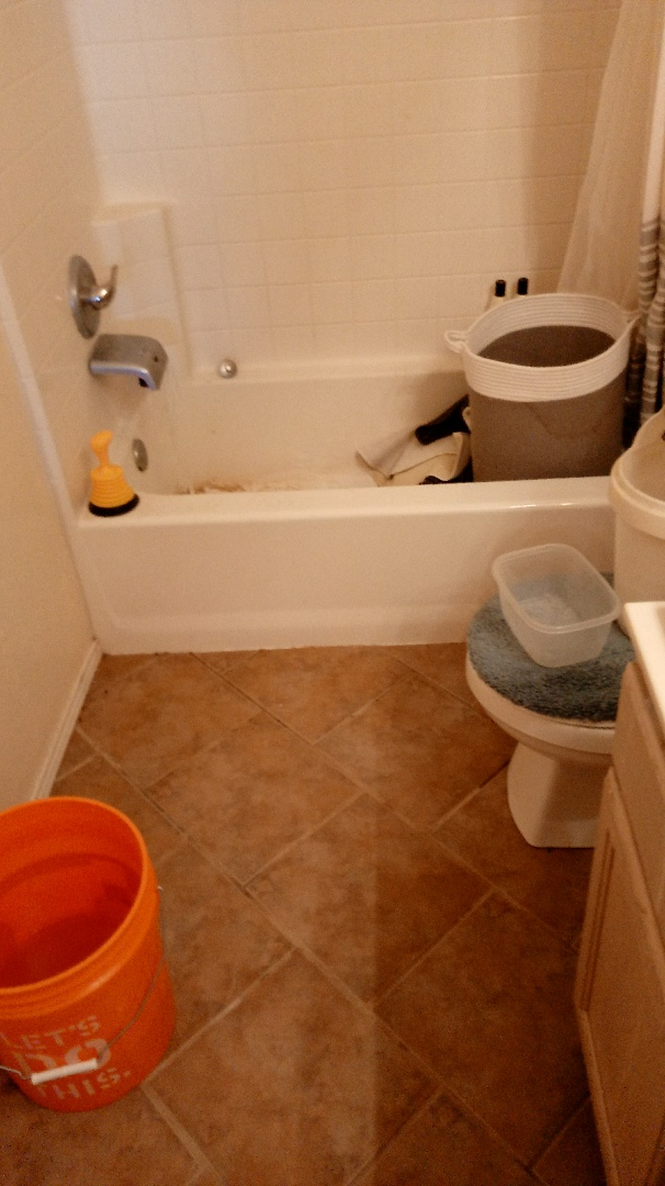 Highland Village, TX - Unclogged upstairs sink with condensate as well as sinks in the master and the shower in upstairs bath