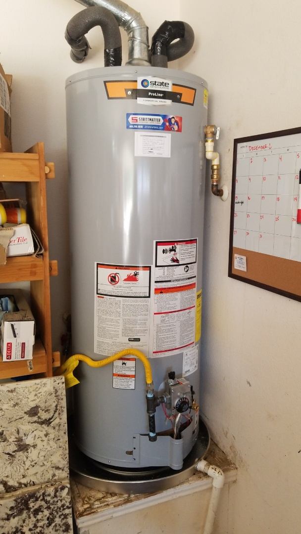 Corinth, TX - Plumber needed to install new 50 gal natural gas water heater
