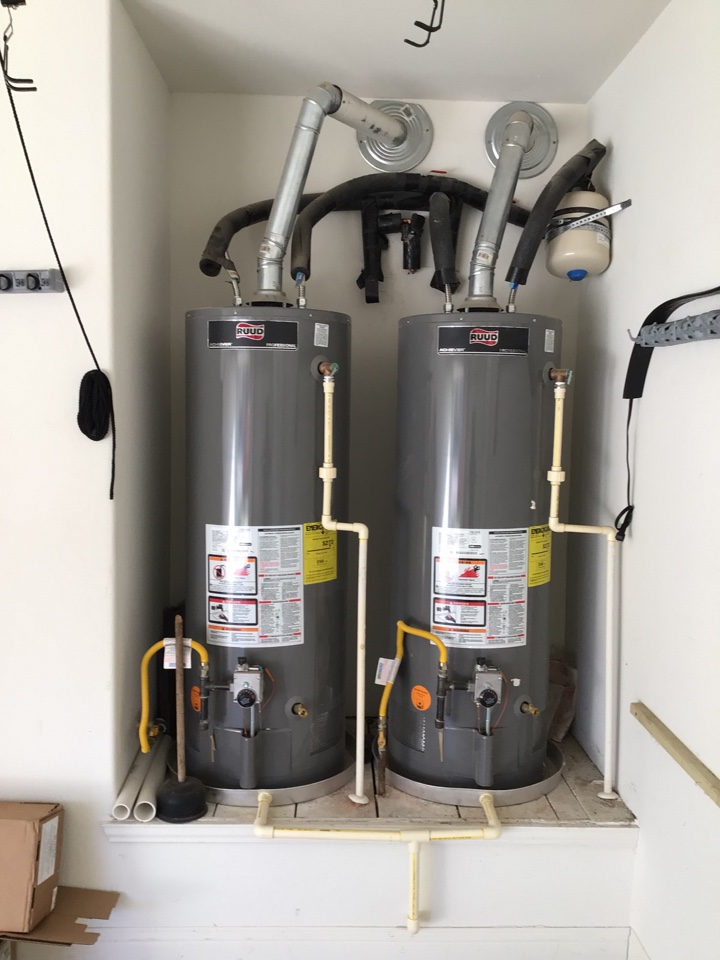 Lewisville, TX - Plumber needed to install new water heaters in Double oak.