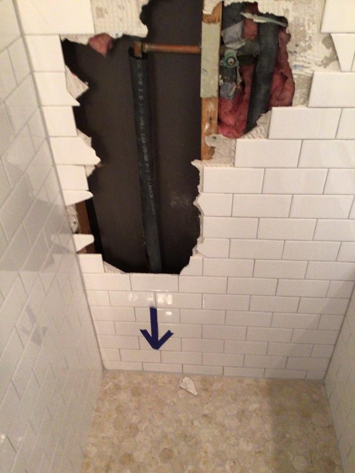 Denton, TX - Plumber needed for shower repair in Denton