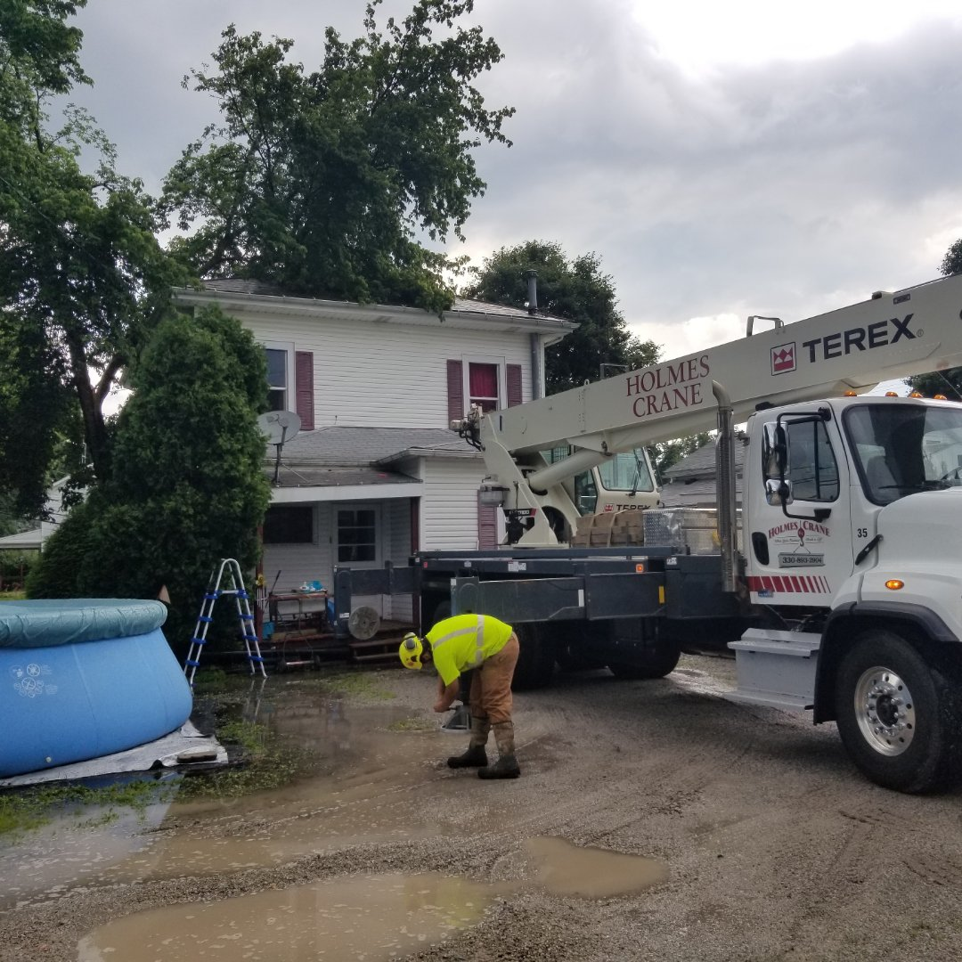 Bolivar, OH - Tree removal. Slate roof. Insurance claim. Roofing. Siding. Gutters. Storm damage.