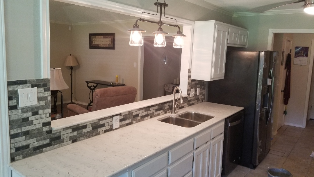 Cleburne, TX - Kitchen remodel in progress