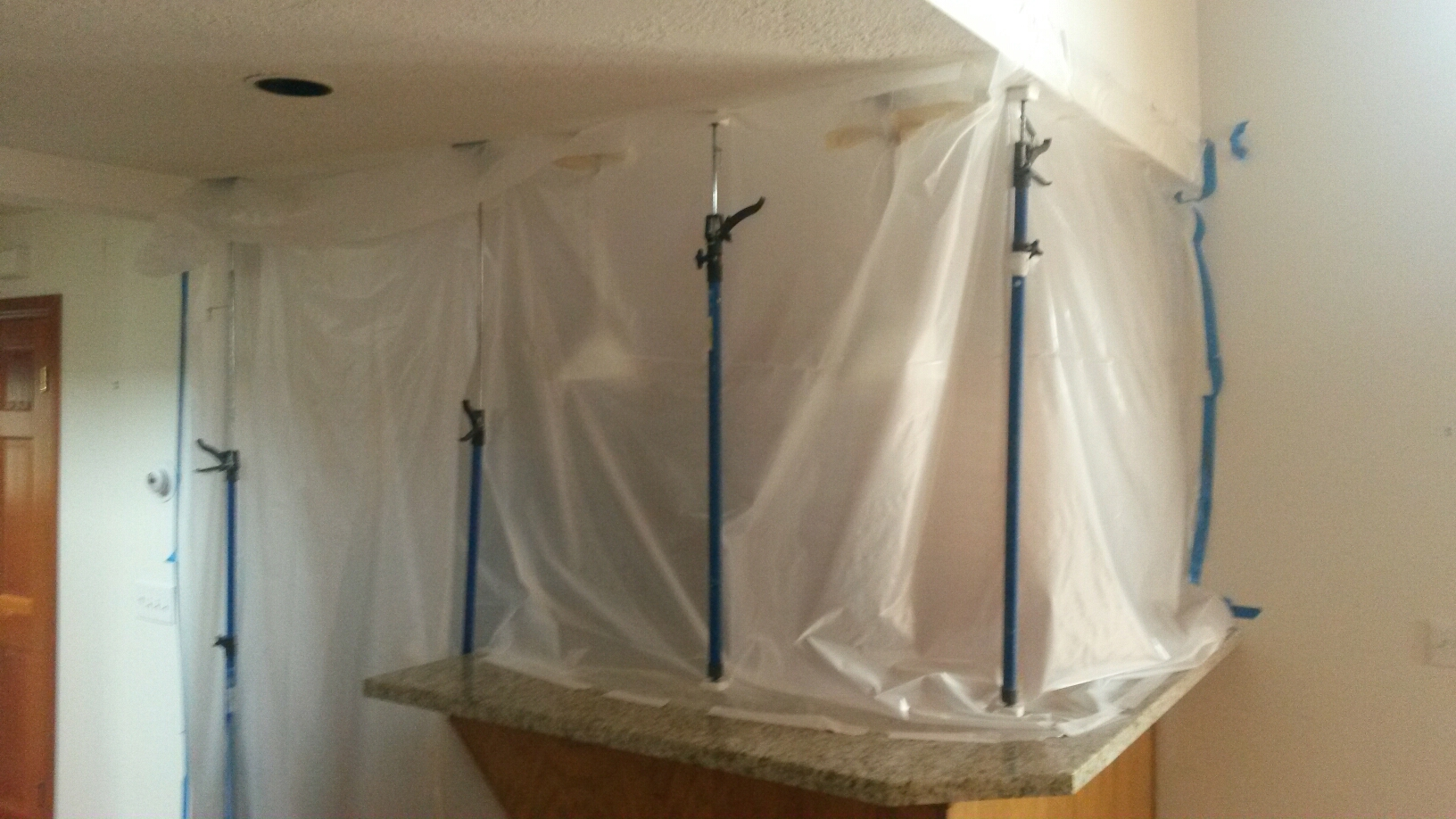 Park City, UT - Containment for another mold removal.