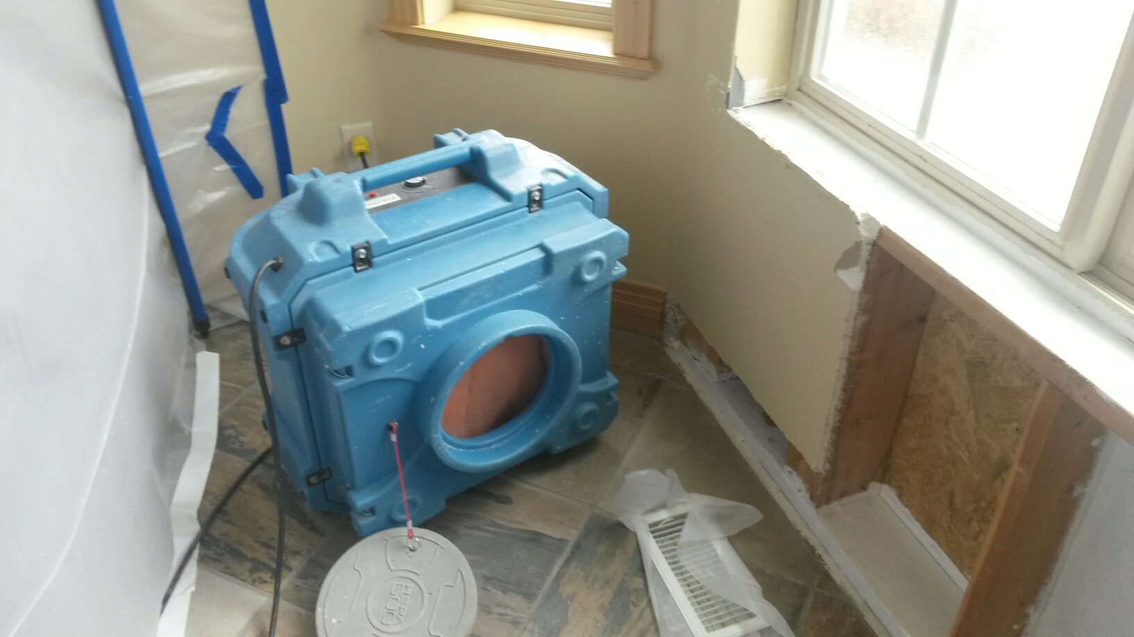 Park City, UT - Mold is all cleaned up. We are back to pick up our airscrubber and other equipment.