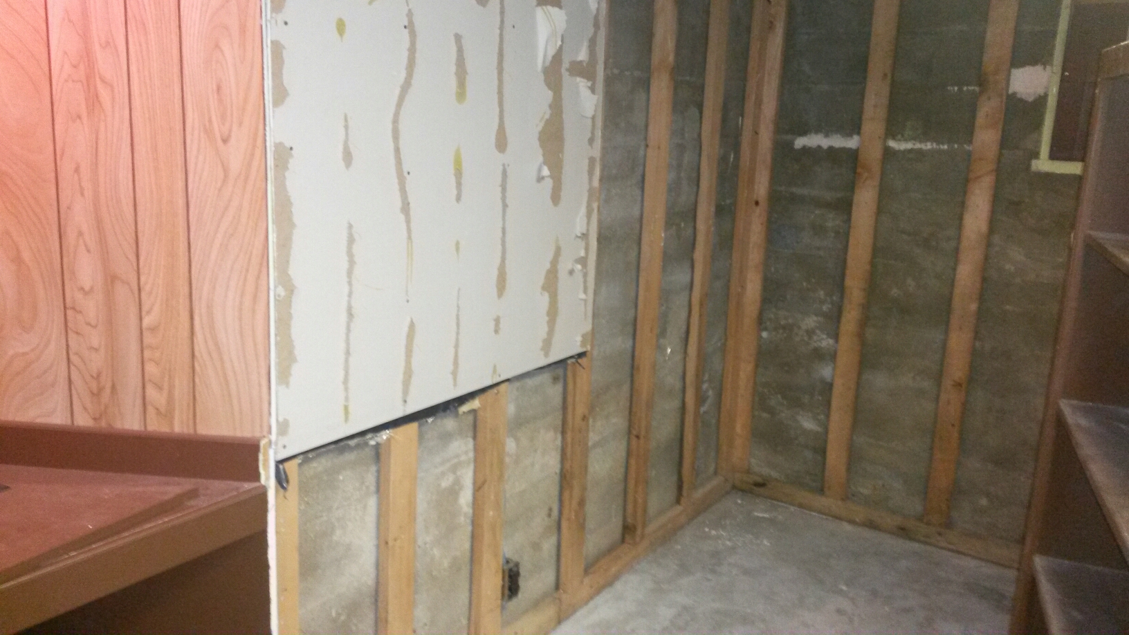Midvale, UT - We finally have the repair estimate from the adjuster, so we can start working on the repairs. The challenge will be the panelling. If we can't match it closely enough, which isn't likely,  then the rest of the paneling will need to be replaced as well. Each water damage is different, but whatever it takes to make it as good as it was before is what we do.