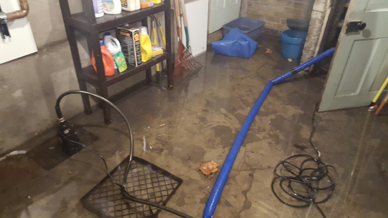 Salt Lake City, UT - Utah flood cleanup, new water damage, flooded basement, Salt Lake City Utah, frozen pipes. Not a good way to start the new year!