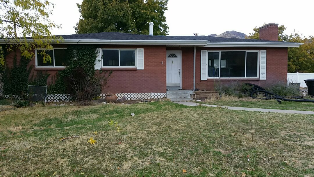 Salt Lake City, UT - Inspection in Salt Lake City, Utah. This home is beyond needing some TLC, it is in need of a major overhaul. It is a great neighborhood so there is enough value to support it. A variety of damage, and a lot of updating.