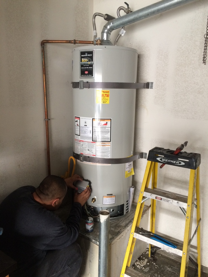 Corona, CA - Replacing water heater