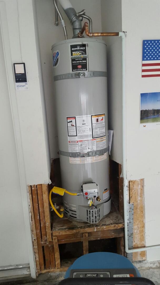 Chino Hills, CA - Installed 40 gallon water heater