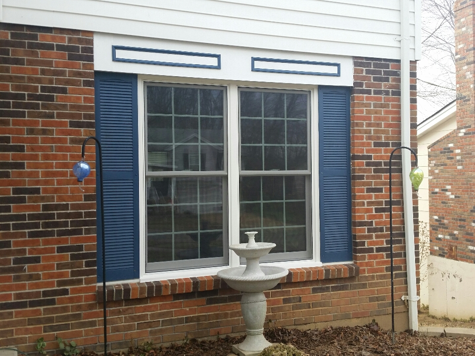"Fenton, MO - ""Renewal by Andersen ""Fibrex"" windows installation. We will give the sales and the installer a 5 out of 5! They just left a few minutes ago and I can already feel the difference."" -RbA STL Customer"