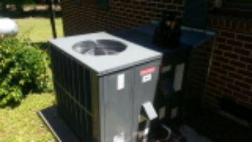 Warranty repair on Goodman gas package unit