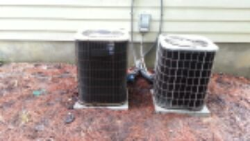 demand service on 13 year old Amana heat pump