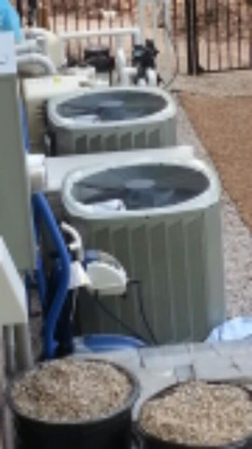 tune up on 2 Trane AC systems