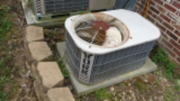 Demand service call on 15 year old York air conditioning system