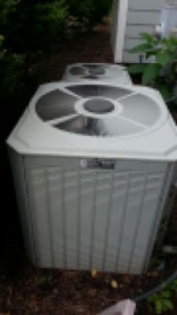 Demand service on 13 year old Trane air conditioning system