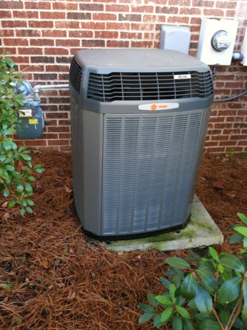 Here to do Annual heat maintenance on a Trane  Split heat pump