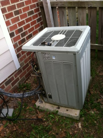 Here to do a system change out on a Trane Split   Furnace and A/C system
