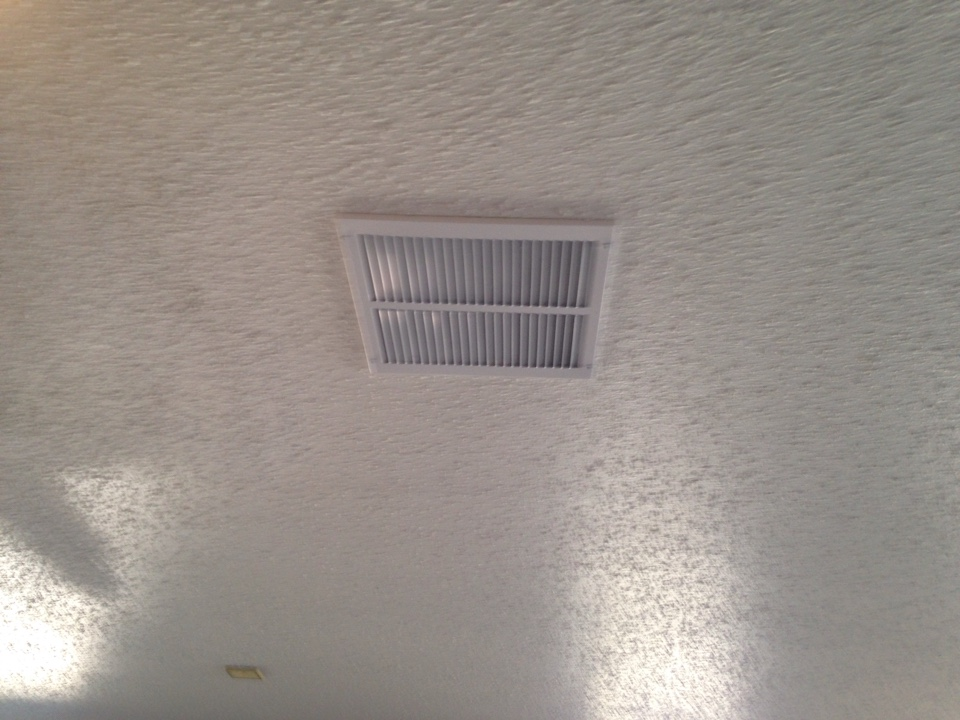 I just moved a return air box and added flexible ductwork and a new ceiling register