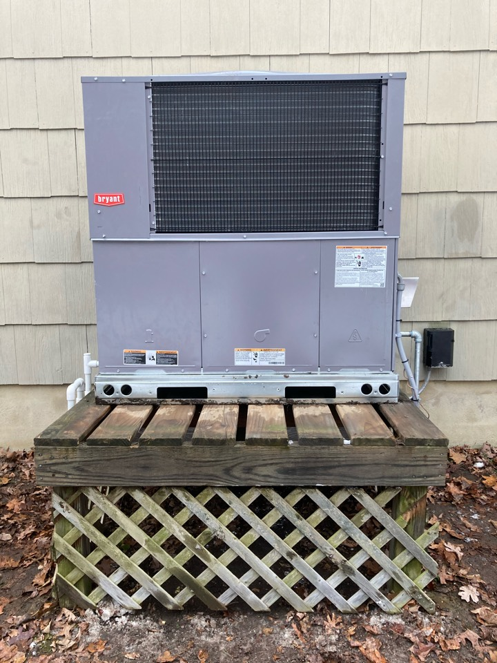 Installed Bryant package unit