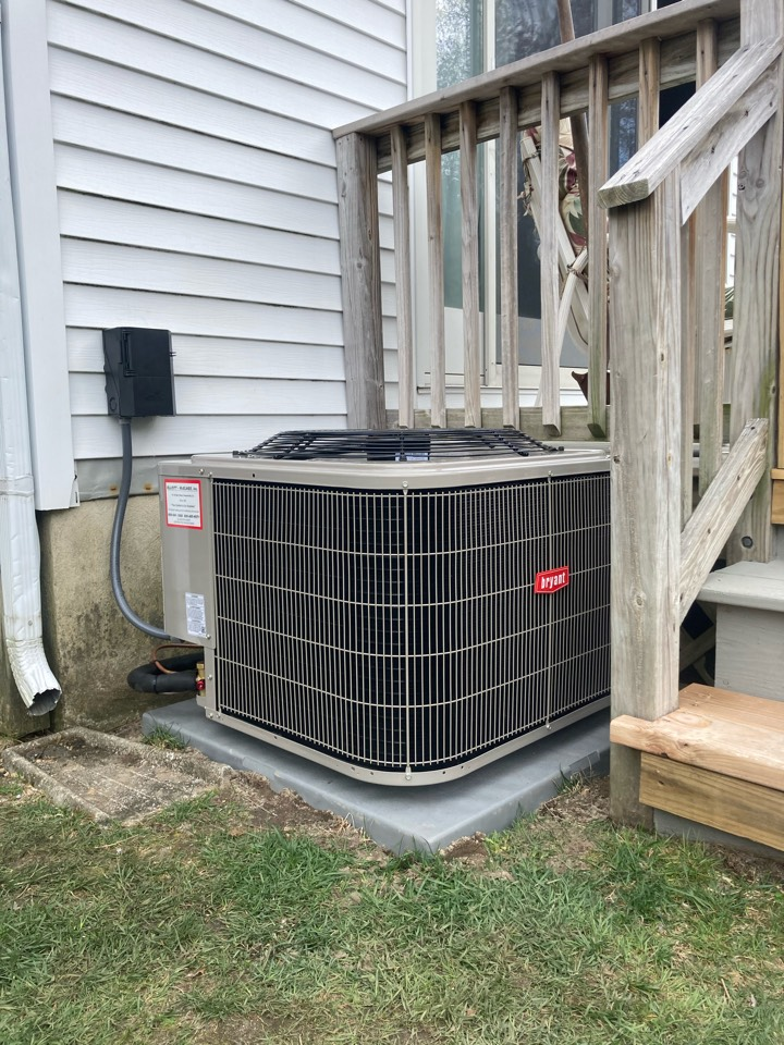 Northfield, NJ - Installed Bryant furnace coil condensor.