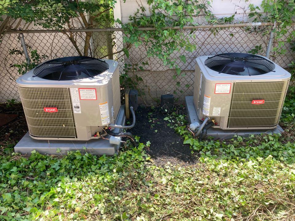 Margate City, NJ - Installed Bryant Condensors.