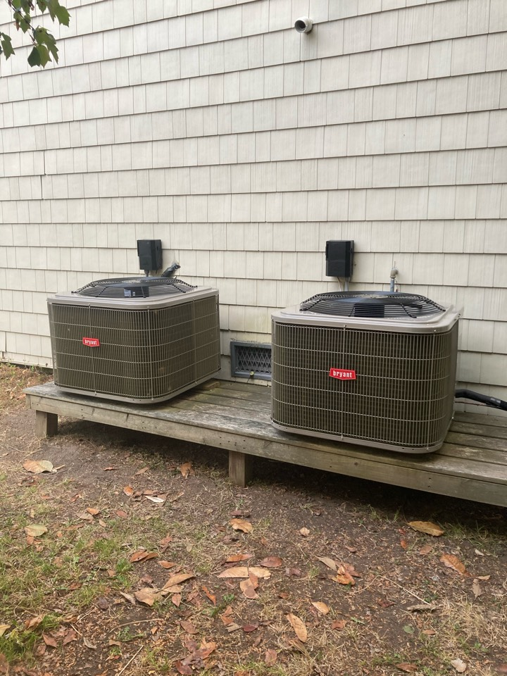 Margate City, NJ - Installed Bryant Furnace Coil Condenser for 1st and 2nd Floors.