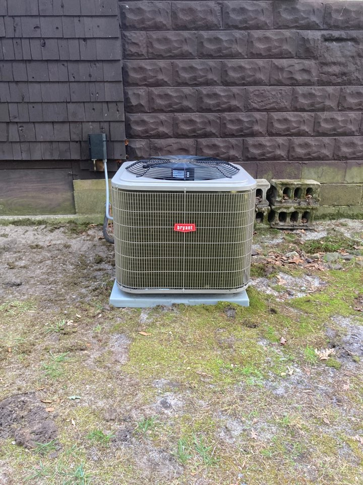 Hamilton, NJ - Installed Bryant Furnace Coil and Condenser.