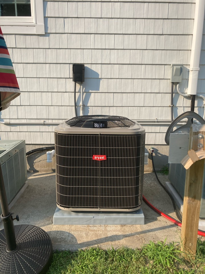 Linwood, NJ - Installed Bryant Furnace Coil and Condenser.