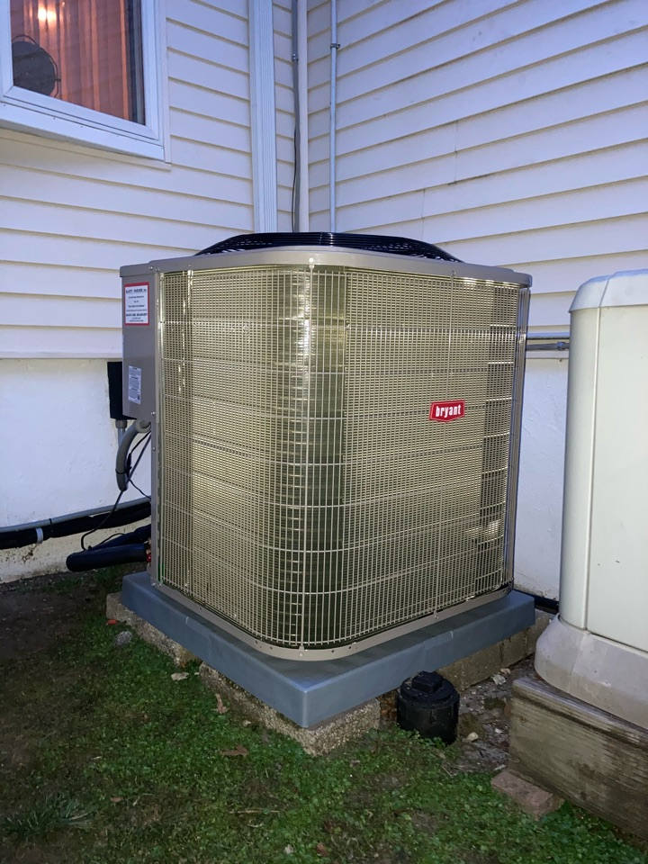 Northfield, NJ - Installed Unico Coil and Blower module and Bryant Condenser.