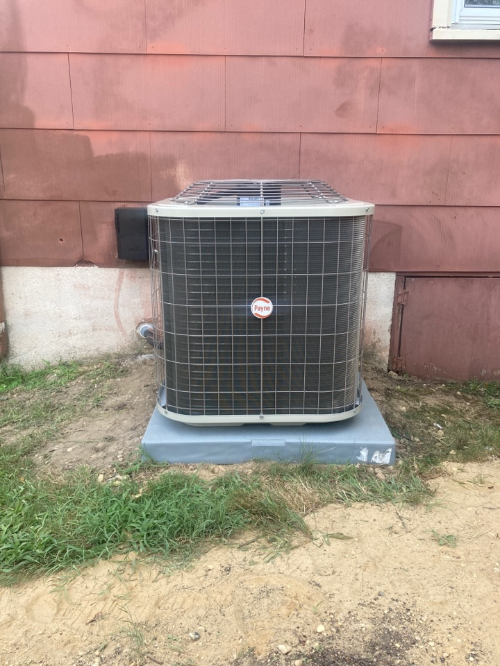 Northfield, NJ - Installed Payne Furnace, Coil and Condenser.