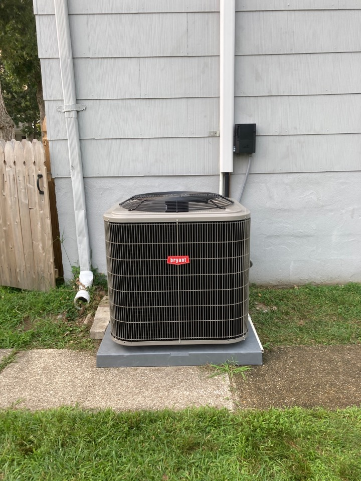 Somers Point, NJ - Installed Bryant Air Handler and Condenser.