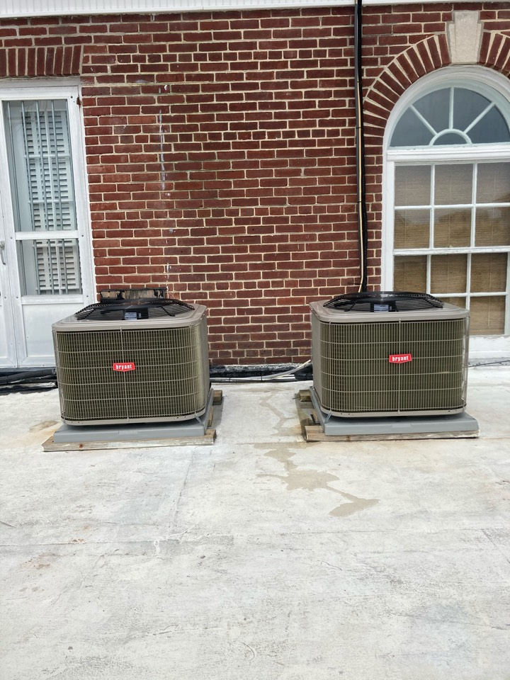 Margate City, NJ - Installed Bryant Condensers.