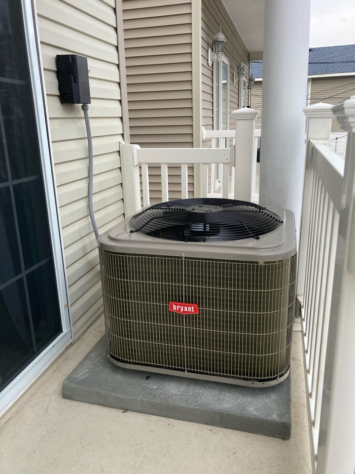 Ocean City, NJ - Installed Bryant Coil and Condenser.