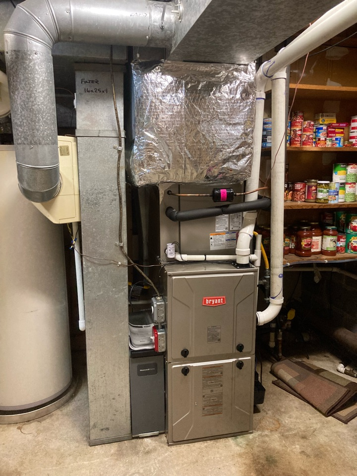 Galloway, NJ - Installed Bryant Furnace Coil and Condenser.