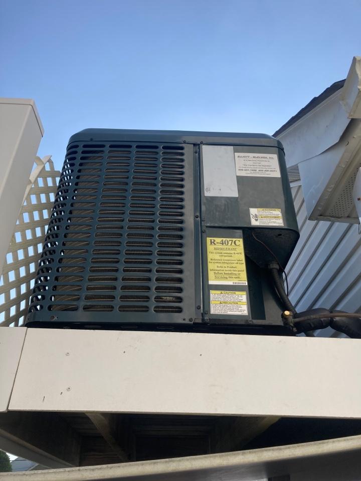 Margate City, NJ - Installed Coil.
