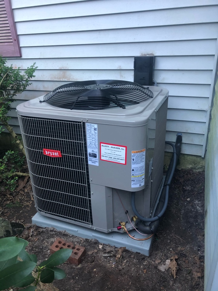 Galloway, NJ - Installed Bryant coil and condenser