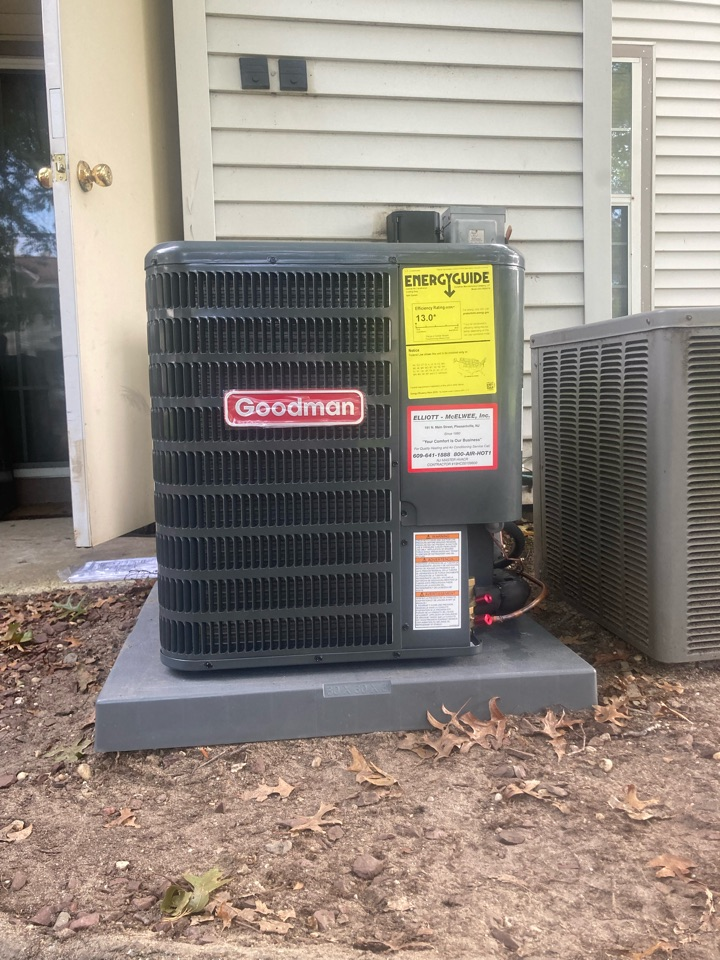 Galloway, NJ - Installed Goodman Furnace Coil and Condenser.