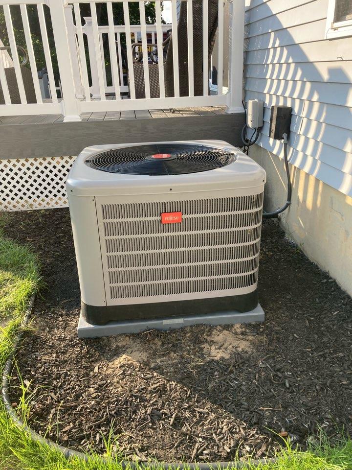 Pleasantville, NJ - Installed Furnace Coil Condenser.