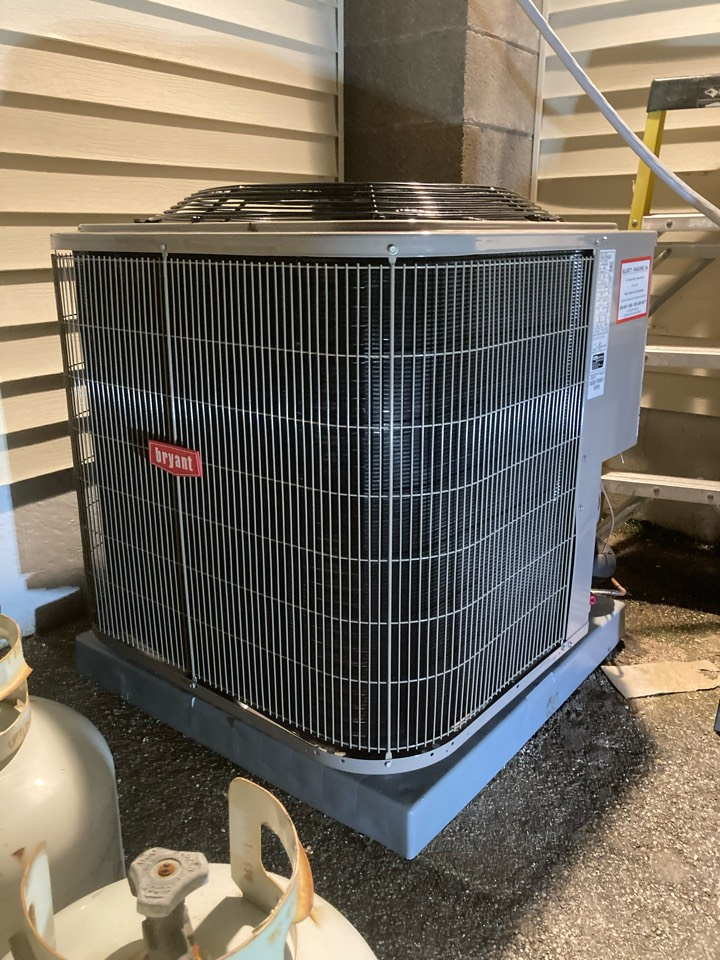 Absecon, NJ - Installed Bryant Furnace, Coil and Condenser.