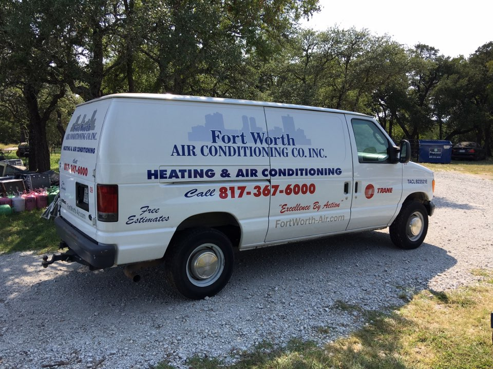 Fort Worth, TX - Air conditioning and heating contractor providing services and Sandybrook, Fort Worth Texas